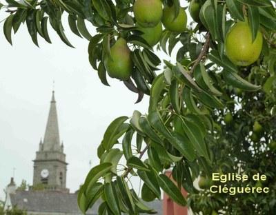 le clocher de Cléguérec