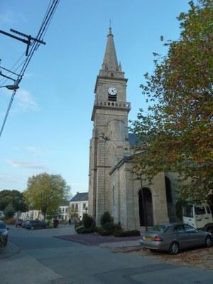 l'église de Cléguérec